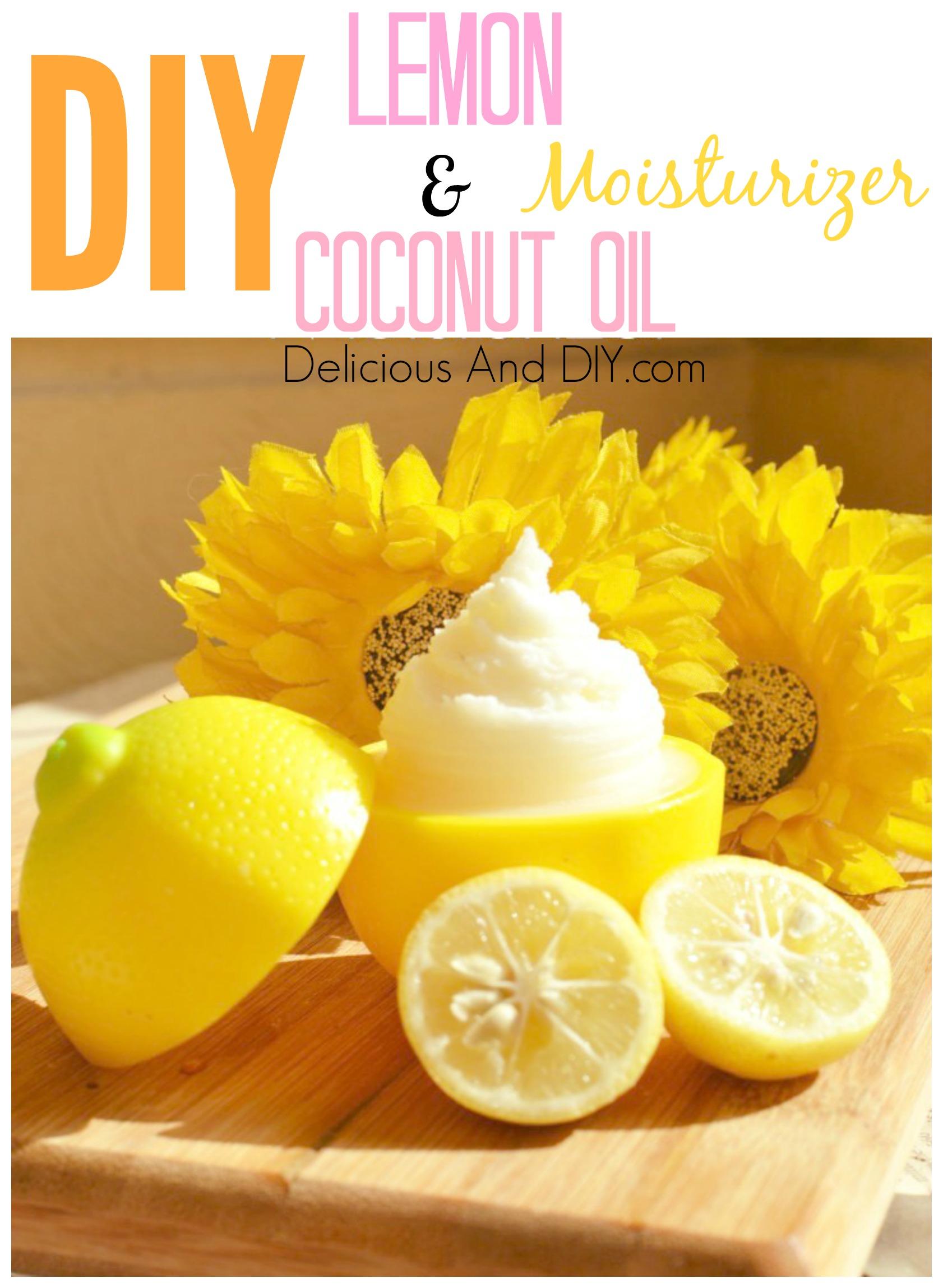 Organic Coconut Oil Face Moisturizer