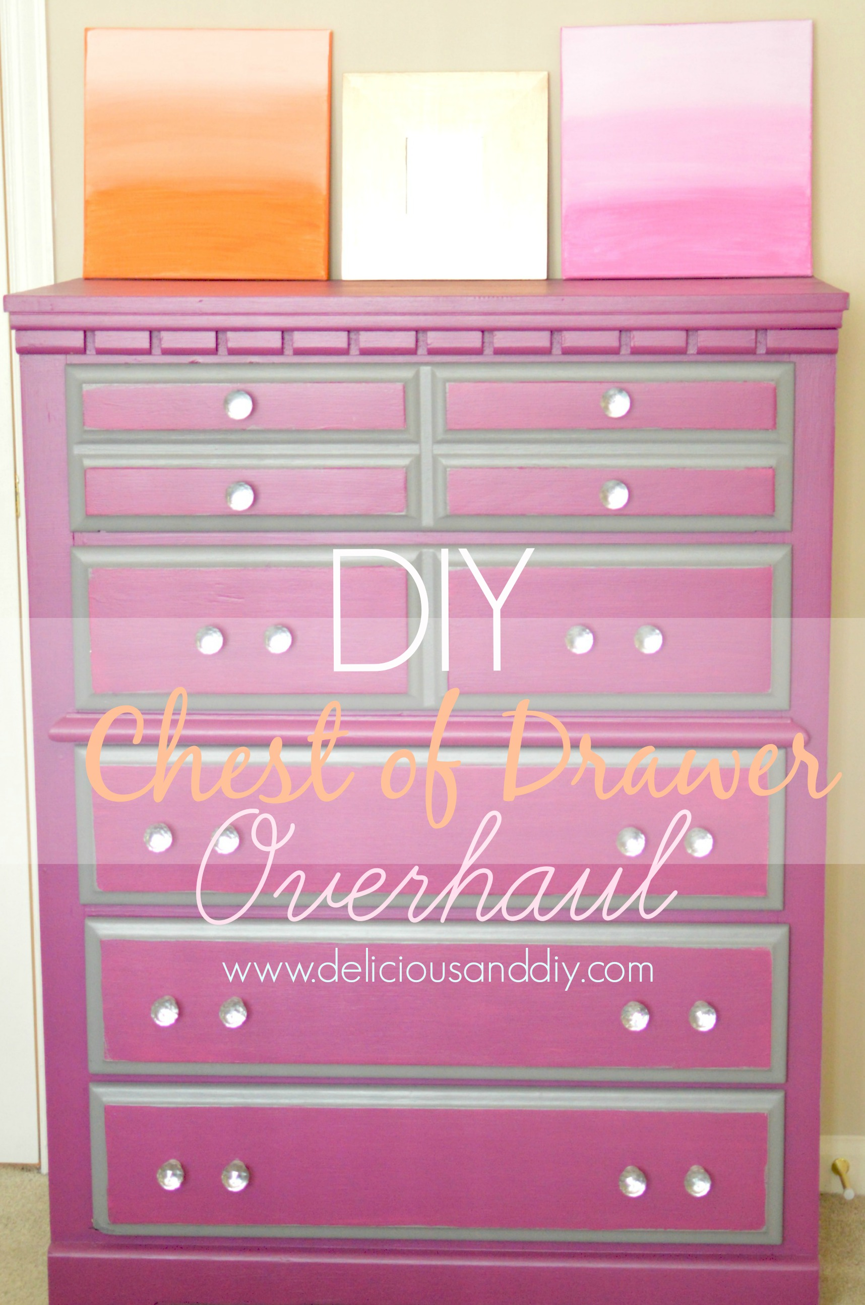 Diy Chest Of Drawer Overhaul Delicious And Diy