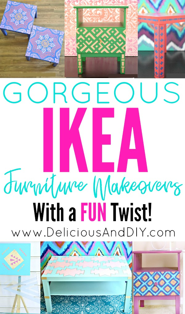 Gorgeous Ikea Furniture Makeovers With A Fun Twist
