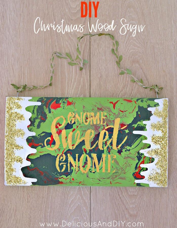 Christmas Wood Signs.Diy Christmas Wood Sign Delicious And Diy