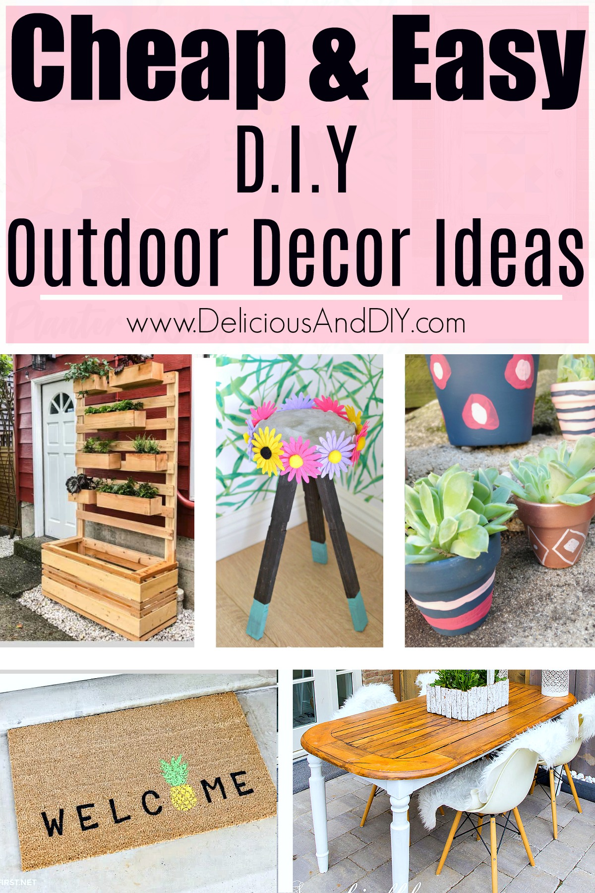 Backyard Decorating Ideas on a Budget - Delicious And DIY